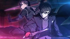 Persona 5 and Sao crossover wallpaper hd