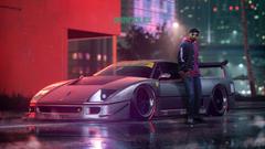 Lee and The Ferrari