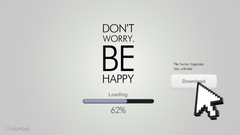 x1080 Don t worry be happy desktop PC and Mac wallpapers