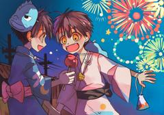 Amane Yugi And Hanko brother moments