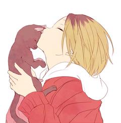 Kenma Kozume Being Cute