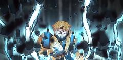 Zenitsu Thunder clap flash Sixfold