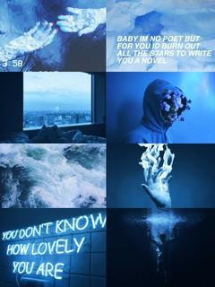 bleu vibes