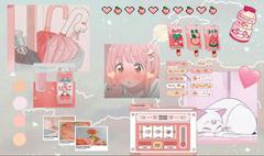 Peachy desktop anime wallpaper