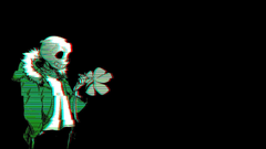 skeleton with green jacket wallpapers chromatic aberration glitch art simple backgrounds