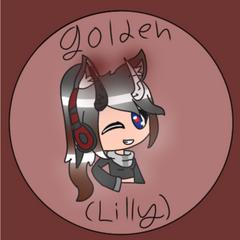 Gift for golden lilly
