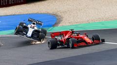 Eifel GP Vettel Russell