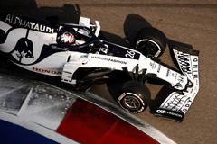 Russian GP Daniil Kvyat AlphaTauri