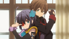 Rikka Takanashi and Yuuta Togashi cosplay Full HD Wallpapers and