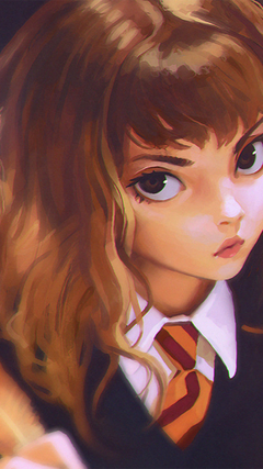 The cutest Hermione