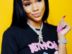 Saweetie is back with her new video for Tap In