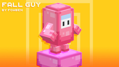really cool minecraft guy