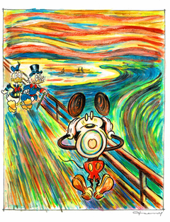 mickey mouse scream