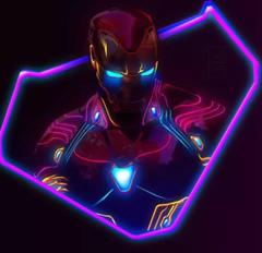 Neon ironman