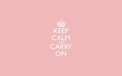 HD Keep Calm and Carry On Wallpapers
