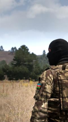 K HD Az rbaycan sg ri divar ka z Azerbaijan soldier wallpaper