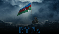 K HD Az rbaycan sg ri v Bayraq divar ka z Azerbaijan soldier and Flag wallpaper