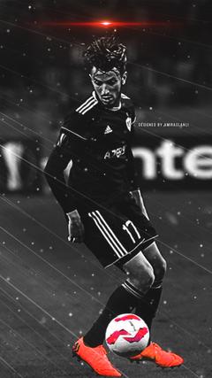 K HD Abdullah Zubir Qaraba FK A dam divar ka z Abdellah Zoubir Karabakh FC Agdam wallpaper