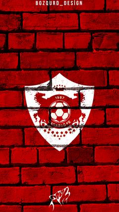 Qaraba FK Az rbaycan 4K HD Qaraba FK loqo divar ka z 4K HD Qaraba A dam wallpaper