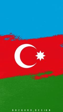 K HD Az rbaycan bayra divar ka z Azerbaijan Flag wallpaper