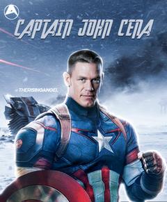 John Cena as Captain America