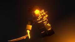 Man with scythe GFX ROBLOX