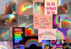 Rainbow aesthetic for big cheeto