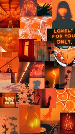 Orange aesthetic for big cheeto