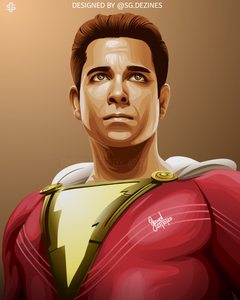 Shazam zachary levi dc comic superhero
