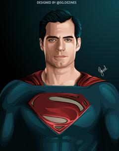 Superman wallpaper superman Vector art of Superman