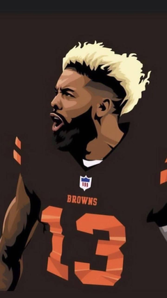 odell the goat at one hand