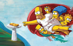Wallpapers The simpsons Figure Picture Homer Maggie