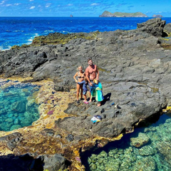 Chris Hemsworth at Lord Howe Island