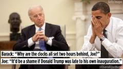 Hilarious memes imagine Joe Biden pranking incoming President Trump