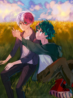 Todoroki and Deku
