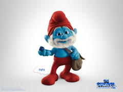 Papa The Smurfs Wallpapers For Ios 7