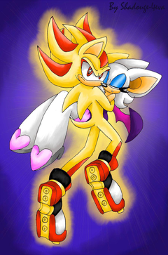 ShadRouge 4eva 3 image Super shadow and rouge the bat 3 HD