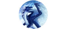 Wings of Fire Whiteout the IceWing NightWing hybrid by Biohazardia