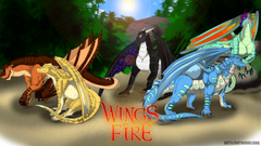 Wings of Fire The Dragonets of Destiny Wallpaper