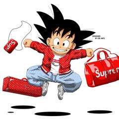 Supreme Bape Goku 1080x1080