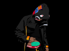 Goku Bape Wallpapers posted by Samantha Anderson