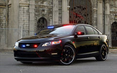 Ford Stealth Police Interceptor Concept Wallpapers