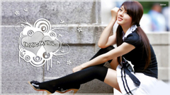 Hwang School Beautiful Asian Girl wallpapers