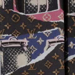 LOUIS VUITTON Silk Monogram Wallpapers Bandeau 40809