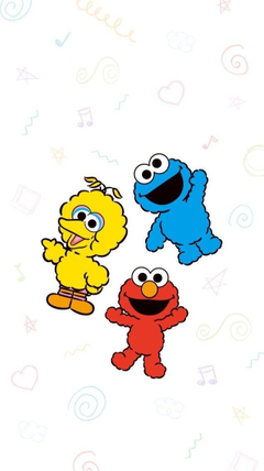 aesthitc Elmo and Friends