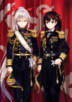 two female anime characters wallpapers anime girls Kantai
