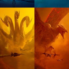 King Ghidorah and Rodan