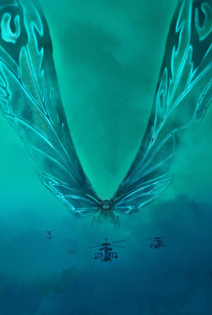 Official Mothra 2019 Poster Textless