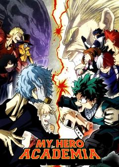 My hero acadmia heros vs villains
