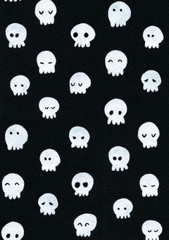 Cute Halloween skulls wallpapers